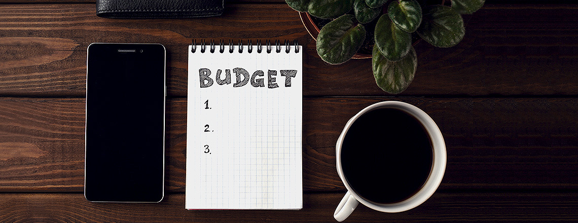 Budget Planning With Coffee 1140X440